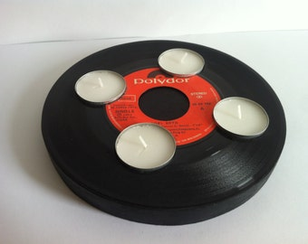 Candleholder single vinyl record