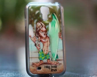Hang Loose Bruce Samsung Galaxy S4  TPU Case/Cover