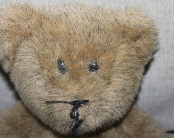 This Bear is From A Build A Bear Workshop, Handmade, but No Name on Him, He needs the Name of a Pal, Place on Tag for a Name, 17 inches tall