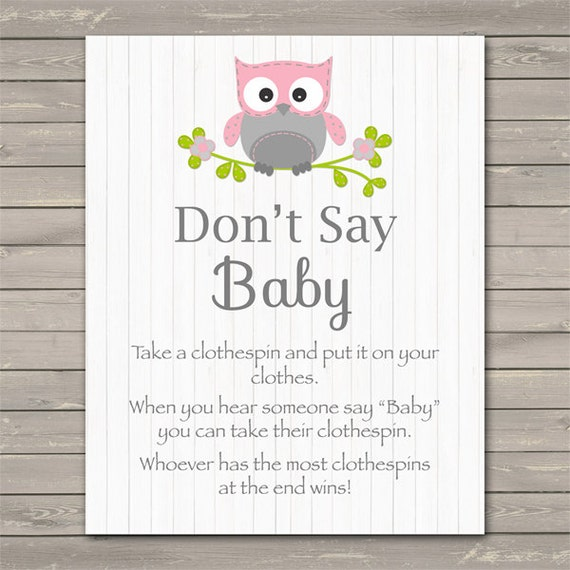 It's just a graphic of Sassy Don't Say Baby Printable