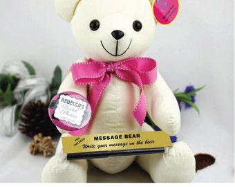 Personalised Hens Night/ Bridal Shower Signature Bear
