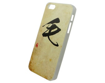 Chinese Calligraphy Surname Mao Mo Hard Case for iPhone SE 5s 5 4s 4
