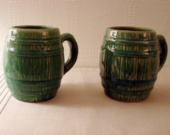 Nelson McCoy Beer Mugs c. 1926