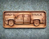 "Chevy Truck in Hardwood Maple (4.5"" x 11"")"
