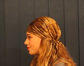 Tichel Scarves Head Wrap Hair Covering Headcovering Bandana Jewish New Women Pre Tied mitpachat chemo - For more color go to my shop HS- 51