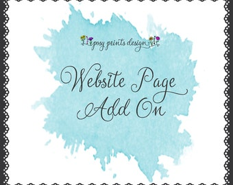 WordPress Website Page Add-On