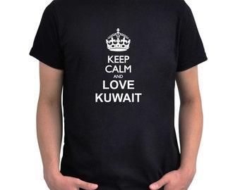 Keep calm and love Kuwait T-Shirt