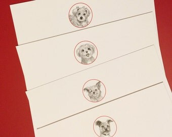 Casa Marengo Canine Collection Notecards