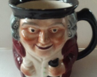 Shorter & Son Staffordshire Hand Painted Toby Mug