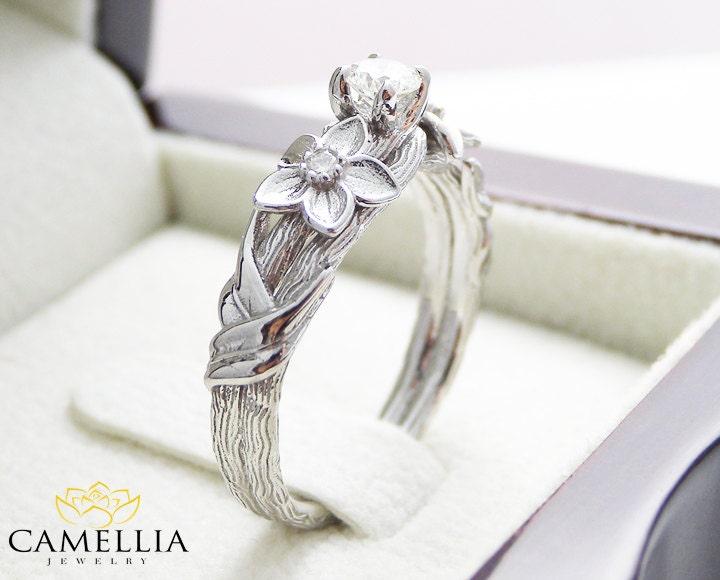 branch wedding rings - photo #35
