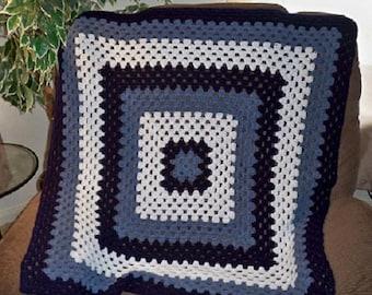 Crochet Afghan Throw (Baby size) 36x36