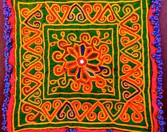 SALE# Afghan Zazi Tribal Rare Textile Embroidery Bead Trim Decor, Sewing 1