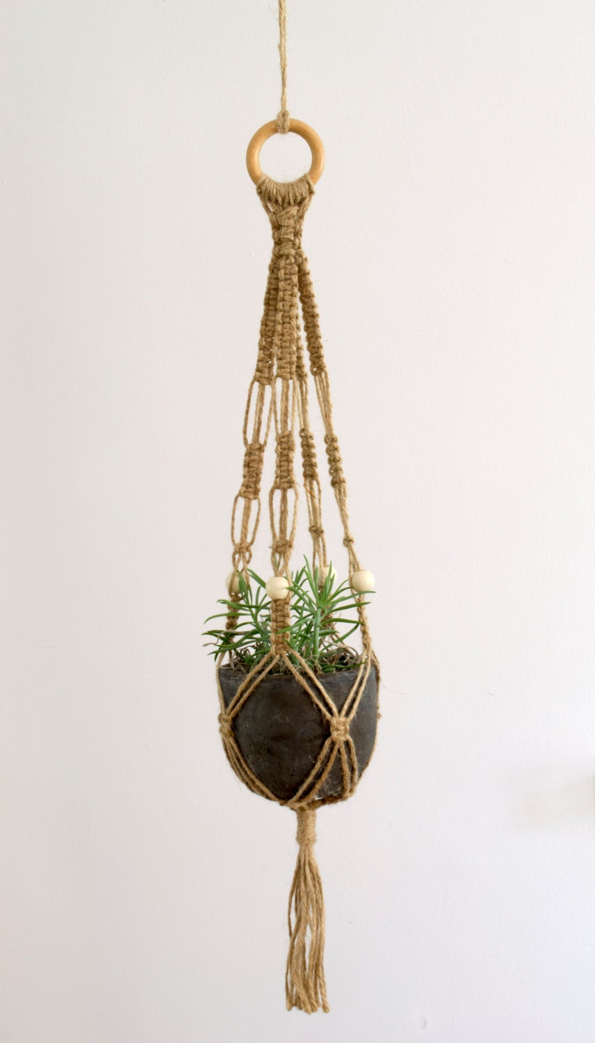 how to macrame plant hangers macrame plant hanger 28 inch twine macrame plant hanger 7923
