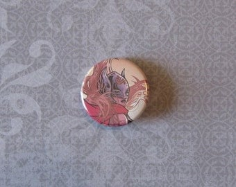 Thor / Jane Foster Upcycled Comic Pinback Button
