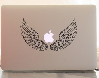 MacBook Sticker Angel wings, FREE SHIPPING to UK, Laptop sticker, Vinyl sticker, MacBook Pro sticker,MacBook decoration,MacBook accessories