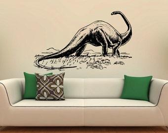 Dinosaur Wall Decal Vinyl Sticker Home Interior Wall Graphics Design Art Wall Murals Bedroom Decor (6d01r)
