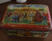 Vintage French Box Circus Theme