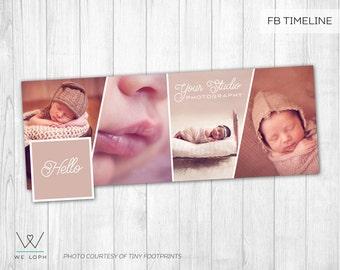 Facebook Timeline Cover - Facebook Timeline Template for Photographers  INSTANT DOWNLOAD SKU:FT003