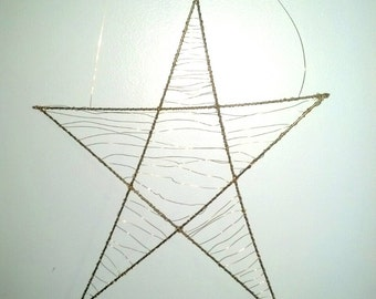 Metal Gold Star Star Decoration Star Wall Hanging Star Wall Decor Star