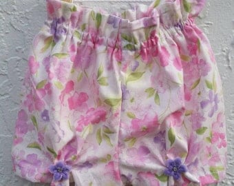 Pantaloncito, short, bloomers for baby  girl