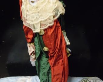 Kingstate Clown Vintage doll