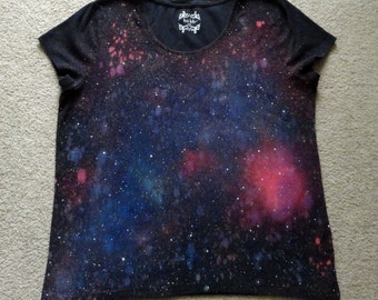 XXX-Large Upcycled Galaxy T-Shirt