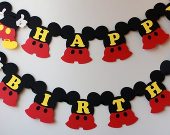 Mickey birthday decorations Etsy
