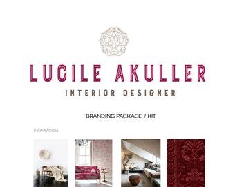 Branding package / Branding kit / Interior design branding / Logo brand kit / Marketing package / Marketing kit / Custom branding package