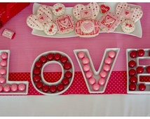 plastic letter candy dishes popular items for lolly buffet on etsy 24012 | il 214x170.784840433 koqy
