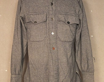 1950s CPO Flannel Shirt