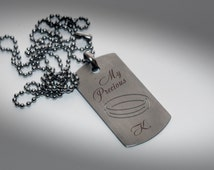 My Precious - Personalized military dog tag