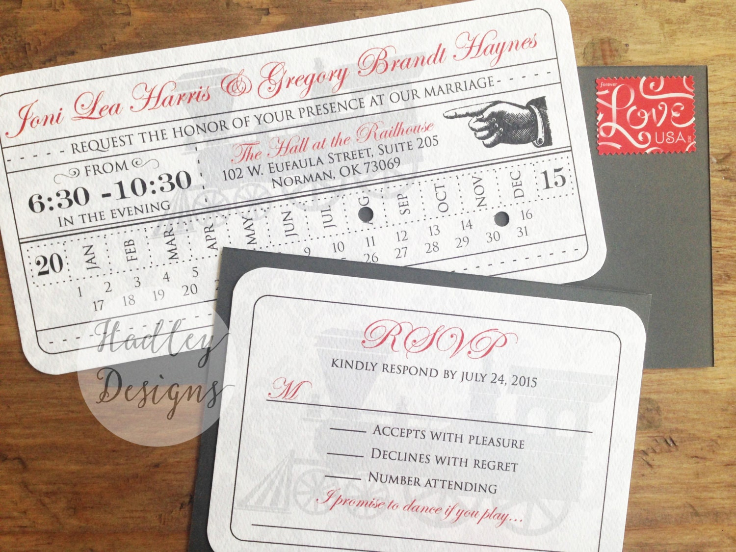 Wedding Invitation Tickets: Vintage Train Ticket Wedding Invitation Train Ticket Invite
