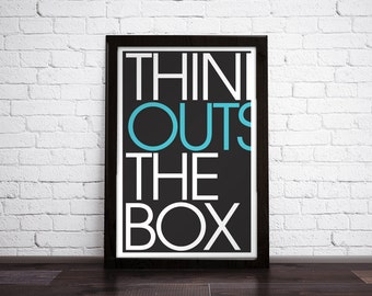 THINK OUTSIDE - Art Print