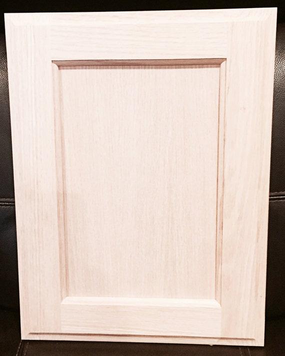 Rainier Style Door In Oak Unfinished Cabinet Doors