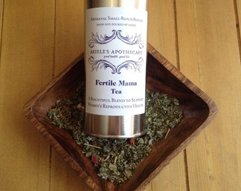 Fertile Mama: Herbal Tea Blend to Support Women's Reproductive Health