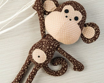 Patrick the Monkey Toy Sewing Pattern T5709
