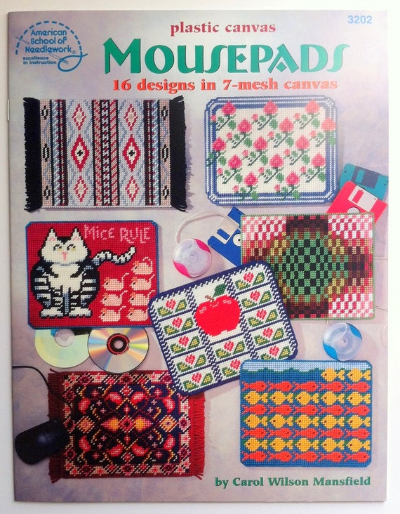 Mousepads Plastic Canvas Pattern Book American School Of