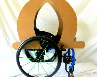 Princess Carriage Costume Kit for Wheelchair