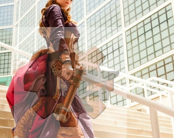 8x10 Signed Steampunk Assassin Cosplay Print
