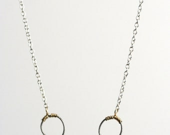 Five Ring Necklace