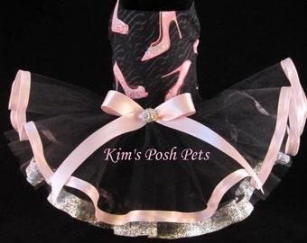 Dog Dress _ Love Shoes n Ribbons Dog Tutu Dress