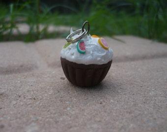 Mini Cupcake Keychain