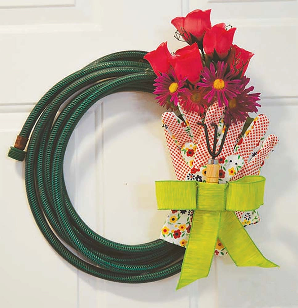 Front door decoration spring wreaths summer wreaths front for 3 wreath door decoration