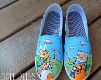 adventure time shoes on etsy a global handmade and