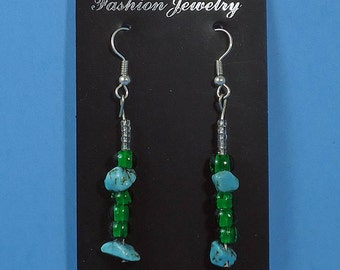 authentic Native American earrings turquoise earrings native american jewelery handmade earring dangle earrings