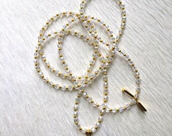 Marta Clear Blue Necklace (GP)
