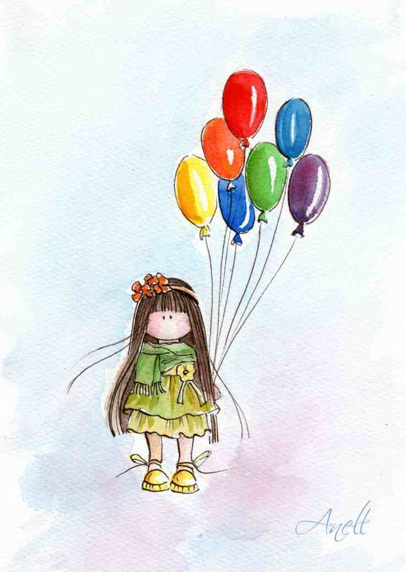 balloon drawing for kids - photo #41