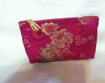 Quilted Cosmetic Bag