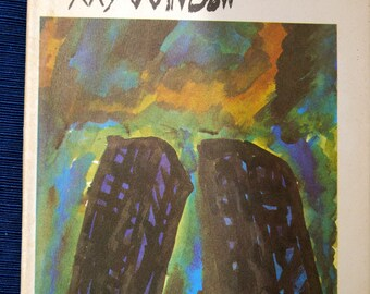 The World From My Window poetry, drawings of poor children, Twin Towers dust jacket George Mendoza 1969