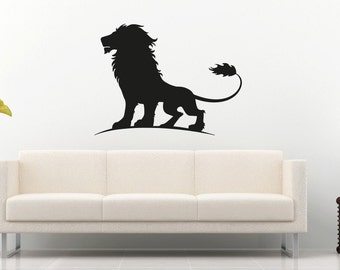 New Lion Wall Decal Wall Stickers Large 76 cm X 58 cm